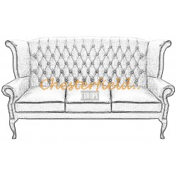 Queen Chesterfield 3 sits soffa