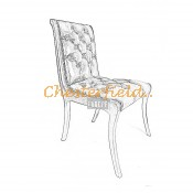 Klassisk Chesterfield stol (0)
