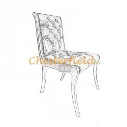 Klassisk Chesterfield stol