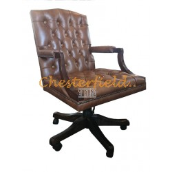 Chesterfield King svängbar stol, office chair