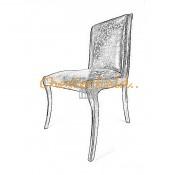 Elegant Chesterfield stol (0)