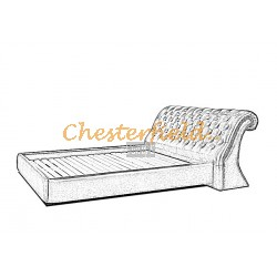 Oxford Chesterfield säng