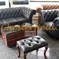 Chesterfield soffa, fåtölj