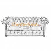 Klassisk Chesterfield 3 sits soffa (11)