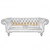 Chesterfield Diva 3 sits soffa (4)