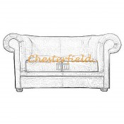 London Chesterfield 2 sits soffa (3)