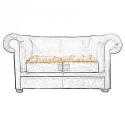 London Chesterfield 2 sits soffa