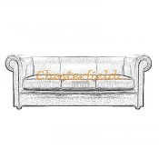 London Chesterfield 3 sits soffa (6)