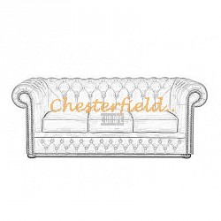 Lord Chesterfield 3 sits soffa