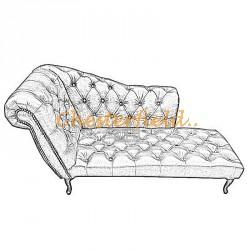 Chesterfield divan soffa