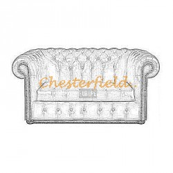 Williams Chesterfield 2 sits soffa
