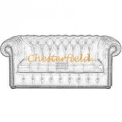 Williams Chesterfield 3 sits soffa