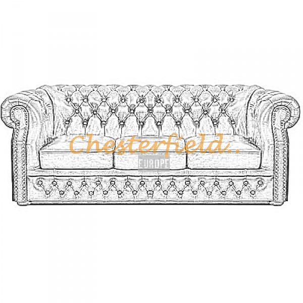 Välj egen färg och beställ Windsor Chesterfield 3 sits soffa